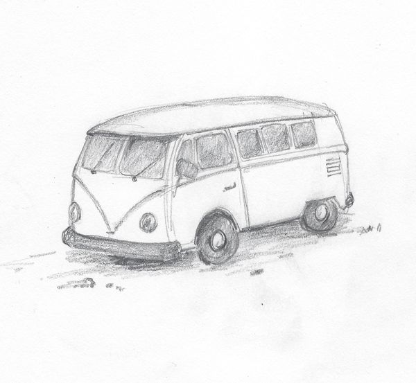 VW Van - Dr. Don Kennedy